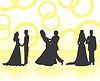 Vector clipart: Wedding steams