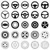 Vector clipart: Wheel