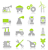 Industrial icons | Stock Vector Graphics