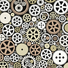 Vector clipart: Background of gears