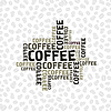 Vector clipart: Coffee background