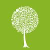 Vector clipart: Office tree