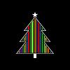 Vector clipart: Celebratory tree