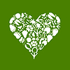 Vector clipart: Heart of an animal