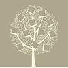 Vector clipart: Photo tree