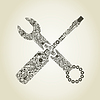 Vector clipart: tool