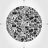 Vector clipart: Business sphere