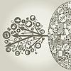 Vector clipart: Business arrow