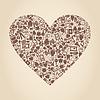 Vector clipart: Medical heart
