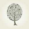 Vector clipart: Tree art