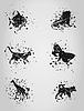 Векторный клипарт: Животное пятно