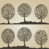 Векторный клипарт: Древесина дерева