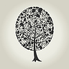 Vector clipart: Tree of part of body