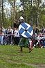 ID 3324471 | Rosyjski średniowieczny wojownik z włócznią | Foto stockowe wysokiej rozdzielczości | KLIPARTO