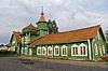 Medvezhya 고라 역, 카렐 리야, 도시 Medvezhye | Stock Foto