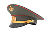 Russian Military Officer Cap | Stock Foto