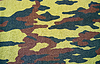 Camouflage pattern with rough realistic fabric texture | Stock Foto