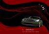 Vektor Cliparts: Abstrakte Welle Hintergrund mit Auto Bild.