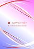 Vektor Cliparts: Corporate Business Template-rot-blauen Hintergrund