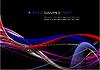 Vektor Cliparts: abstrakter Welle Hintergrund.