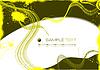 Vektor Cliparts: Grunge abstrakten gelben Hintergrund.