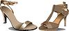 Vektor Cliparts: Zwei Paar Schuhe, Mode, Frau.