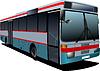 Vektor Cliparts: Stadtbus. Coach. für Designer