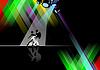 Векторный клипарт: танцев полюс