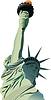 Vektor Cliparts: Freiheitsstatue in New York.