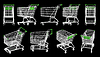 Photo 300 DPI: Shopping carts