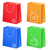 Bags with eco symbol