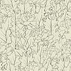 Vector clipart: flower field line