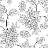 Vector clipart: Flower seamless