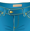 Vector clipart: Jeans