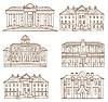 Vector clipart: House pattern
