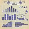 Vector clipart: Infographics elements sketch