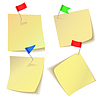 Sticky notes | Stock Vector Graphics