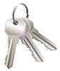 Vector clipart: Three keys