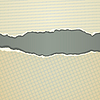 Vector clipart: torn paper background