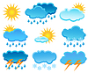 Vector clipart: Weather icon