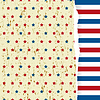 Vector clipart: American striped pattern