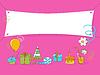 Doodle urodziny | Stock Vector Graphics