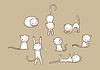 Doodle набор кошка