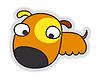 Mały pies cartoon | Stock Vector Graphics