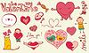 Векторный клипарт: Любовь каракули