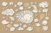 Vector clipart: Sky doodle