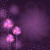 Vector clipart: Abstract purple background