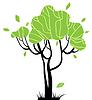 Stilisierte Bäume für Ihr Design | Stock Vektrografik