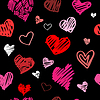 Love pattern background | Stock Vector Graphics