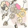 Abstrakte Blumen Hintergrund. Nahtlose Muster | Stock Vektrografik